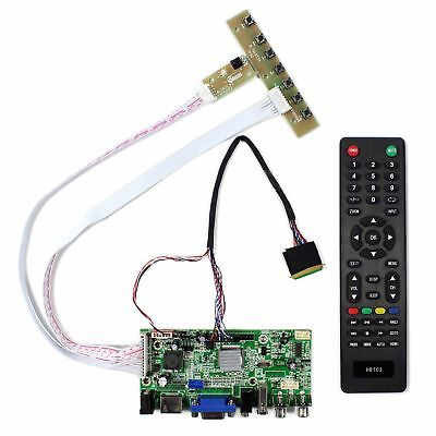 HDMI VGA 2AV USB Audio LCD driver board for 10.1inch 1024x600 LCD panel 40pin