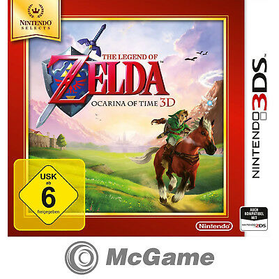 The Legend of Zelda: Ocarina of Time 3D Selects  |  Nintendo 3DS  |  Neu & OVP