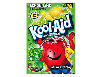 Kool Aid Tasty Drink Mix - Lemon Lime Flavour - Brand New • AUD 1.00