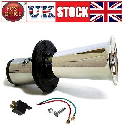 12V CAR HORN KLAXON AHOOOOGAH T FORD LOUD NOISE 110db AIR HORN VAN TRUCK BOAT