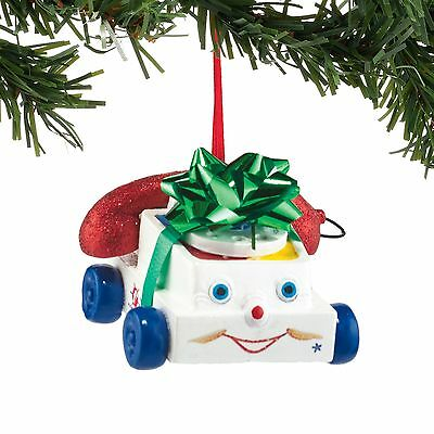 Dept 56 Fisher Price Chatter Phone Ornament New 2016