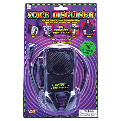 Voice Changer 10 Horror Voices Party Joke Fun #Halloween Fancy Dress Accessory