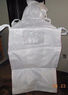 "MATERIAL MOTION BULK BAG 33"" x 33"" x 52"" / TOP SPOUT & BOTTOM OPENING / 4000LBS."