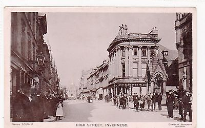 HIGH STREET, INVERNESS: Inverness-shire postcard (C2735).