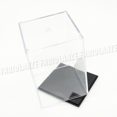 Clear Acrylic Plastic Display Box Case 10cm H Perspex Dustproof Tray Protection