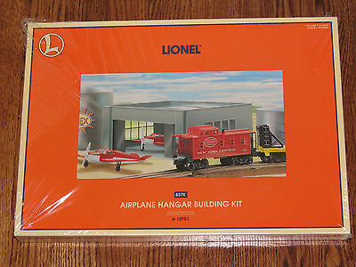 Lionel O Scale Airplane Hangar Building Kit Assemby Required 12951 NISB