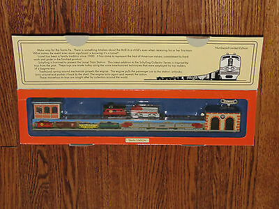 Lionel American Legend Wind-Up Train Station Schylling Collectors Series NIB