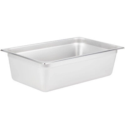 "Full Size 6"" Deep NEW Stainless Steel Hotel Steam Table Pan 4070069"