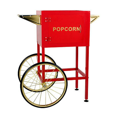 Carnival King PM8CART Red Steel Cart for 8 oz. PM850 Popcorn Popper