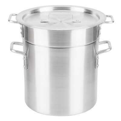12 Qt. Silver NSF Listed Aluminum Double Boiler