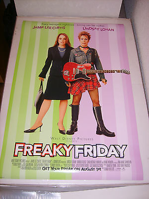 FREAKY FRIDAY (2003) US AUTHENTIC ORIGINAL 27x40 DS MOVIE POSTER