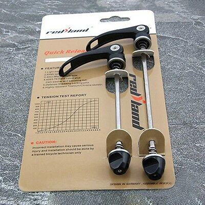 New MTB Bike Skewer Set 100/135mm F&R Mountain Bicycle Quick Release QR 1 Pair