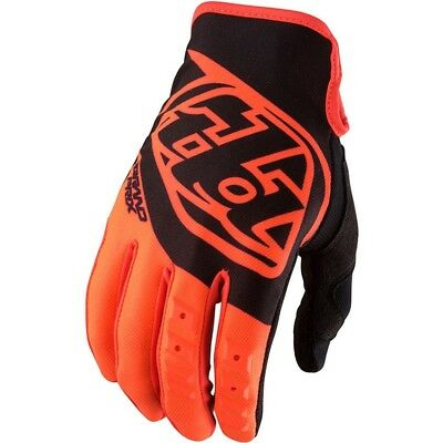 Troy Lee Designs 2017 NEW Mx Kids GP Black FLO Orange TLD Youth Motocross Gloves