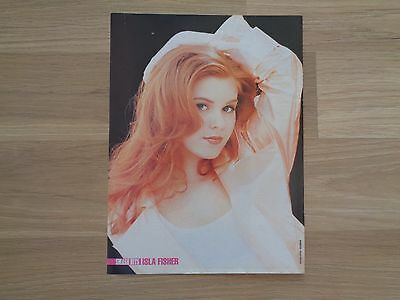 Isla Fisher_Bjork_MAGAZINE CLIPPINGS_ships from AUS!__18R