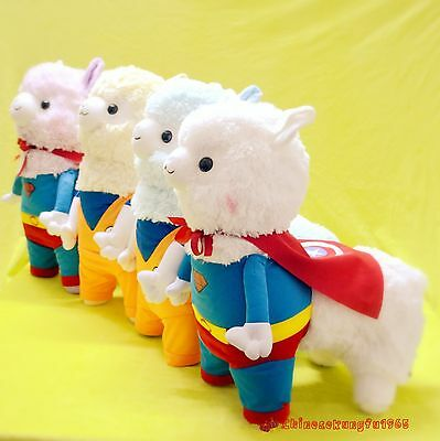Alpacasso Baby Amuse Costume Captain America Son Goku Llama Stuffed Plush Doll