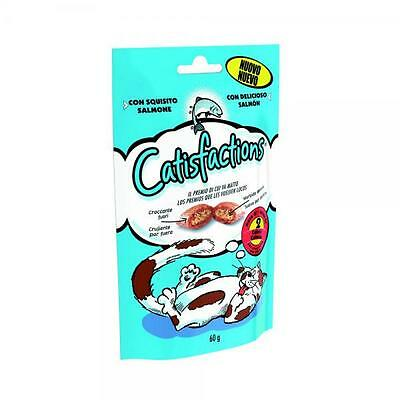 CATISFACTION pour les collations de chat le saumon 60 gr - Friandises pour chats • EUR 2,49