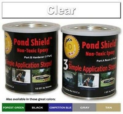 Fountain & Water Feature Restoration Paint Pond Shield Epoxy Pond Coating by Pon