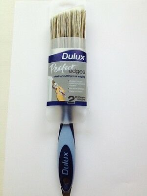 "DULUX PERFECT EDGE 2"" / 50mm ANGLE PAINT BRUSH - NO LOSS BRISTLES"