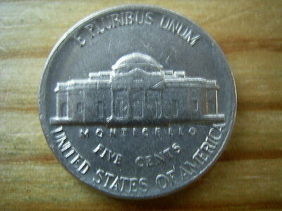 1988d  usa 5 cent  nickel coin collectable