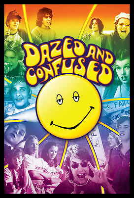 Dazed and Confused FRIDGE MAGNET X-large Happy Face Magnetic Movie Poster