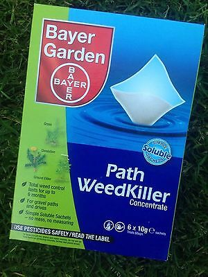 Brand New Bayer Advanced Path Weedkiller Concentrate 2 BOXES 60gm 6x10g sachets