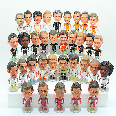 Real Madrid ClassicToy Doll Figure Collectable Adidas Soccer Football Set