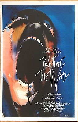 PINK FLOYD THE WALL SCREAMING FACE  poster 11 x 17