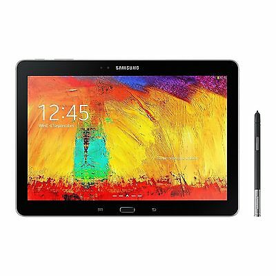 """Samsung Galaxy Note SM-P607 32GB 10.1 """" 4G T-Mobile Black Excellent Cond Tablet"""