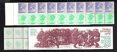 1982 fx5 booklet (christmas ) 10x12 1/2p 10x15 1/2p p mnh