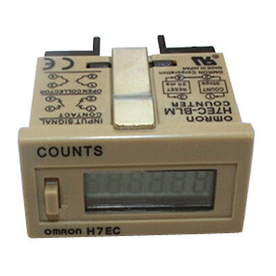 H7EC-BLM 0 - 999999 Counting Range No-voltage Required Digital Counter DT