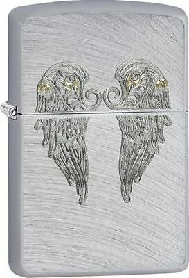 Zippo Windproof Lighter With Angel Wings, 29069, New In Box