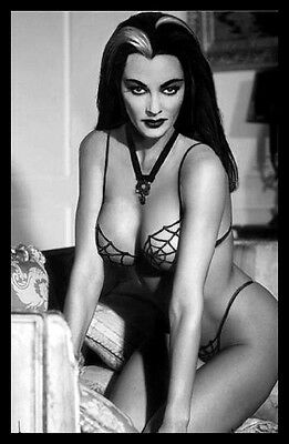 Lily Munster FRIDGE MAGNET Sexy Vamp 6x8 Magnetic Poster Canvas Print #3
