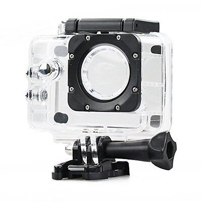 UK 30m Underwater Diving Waterproof Clear Protective Housing Case for SJ4000 Cam