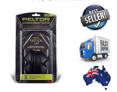 2015 NEW TOP RANGE - 3M Peltor Sport Tactical 100 Electronic Hearing Protector