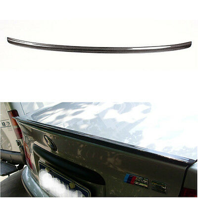 71b0d3f936e Carbon Fiber Trunk Spoiler Wing for BMW E46 Coupe 2Door 1999-2004 M3 Style