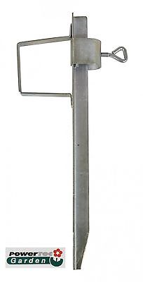 Lawn Spike Steel Ground Earth Anchors Sun Umbrella Stand Sleeve