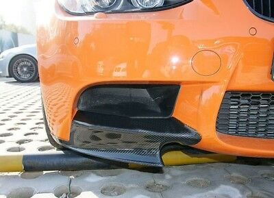 Carbon Fiber Front Splitter Aprons Cupwing for BMW 3Series E92 E93 M3 06-13