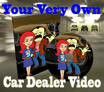 Car Dealer Business Video with your business information & Branding