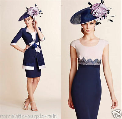 New Mother Of The Bride Outfits Free Long Coat Guests Wedding Formal Gowns/Dress