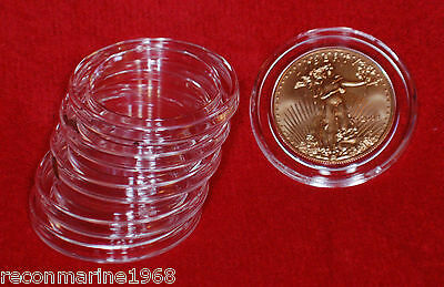 Lot of 5 Airtite Direct Fit H32 Holders for Gold American Eagle Coins 32mm