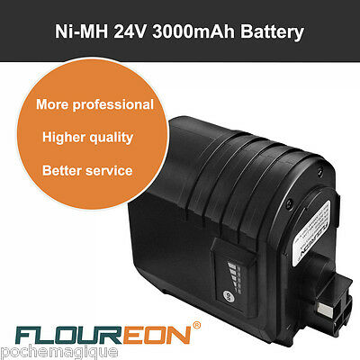 24V 3000mAh Ni-MH Batterie pour Bosch GBH Kinzo 25C995EP Remplacer Noir FR Stock