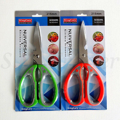 New Heavy Duty Kitchen House Hold Scissor Meat Chicken Fish Cutter Herbs Shears