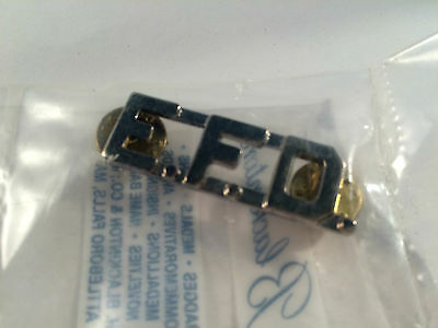 Fire Department Pin  Vintage Unknown Canadian Fire Department EFD Authentic  Pin