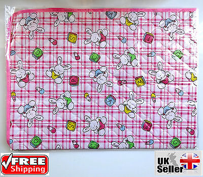 New Waterproof Baby Infant Diaper Nappy Changing Mat Sheet Kids Pad 70cmX50cm UK