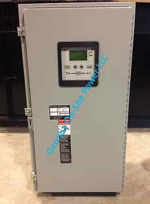 200 Amp Nema 3R ASCO 300 Series 1 Phase 120 / 240 Vac Automatic Transfer Switch