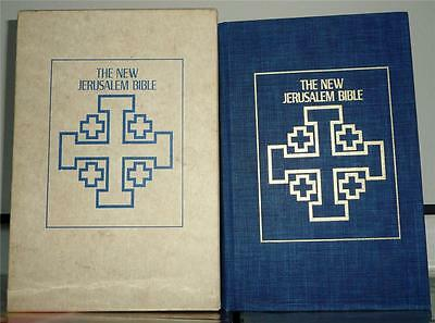 The New Jerusalem Bible Copyright 1985 Publisher Doubleday with Slipcover