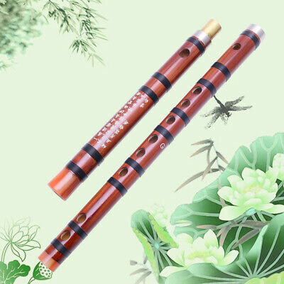 Traditional Handmade Pluggable Chinese Musical Instrument Bamboo Flute/Dizi In G