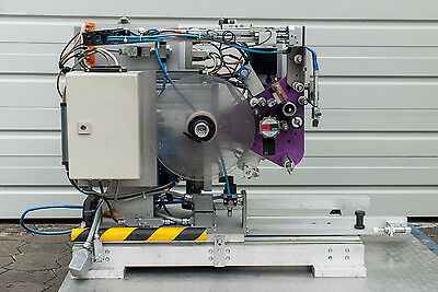 TOPEX ETIKETTIERMASCHINE 50/50/300L  TAPPING MACHINE thermo Etiketten