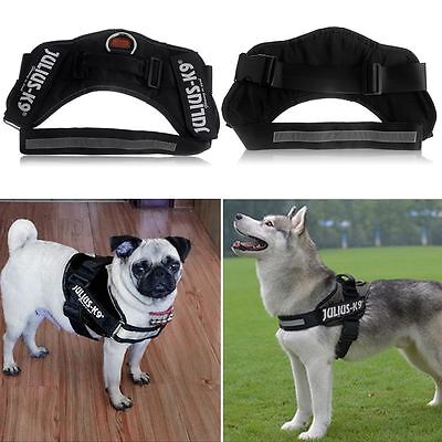 Soft Padded Non Pull Dog Harness Safety Reflective Adjustable Size S/M/L/XL/XXL