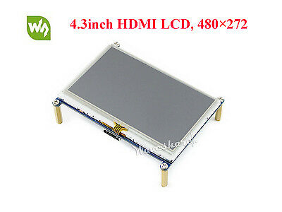 4.3inch Raspberry Pi HDMI LCD 480×272 Resistive Touch Screen Backlight Control